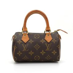 2445be7a0b7d Authentic Louis Vuitton handbag Mini Speedy Sac HL