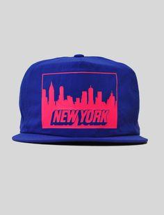 9e11b69c8a152 vintagexlife  New York Nylon Snapback New York Cap