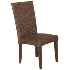 Coaster Westbrook Dining Casual High Back Woven Side Chair - Coaster Fine Furniture