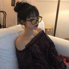 Ulzzang icon discovered by Megumi on We Heart It Pelo Ulzzang, Moda Ulzzang, Ulzzang Korean Girl, Cute Korean Girl, Ulzzang Fashion, Korean Fashion, Korean Beauty, Asian Beauty, Mode Grunge