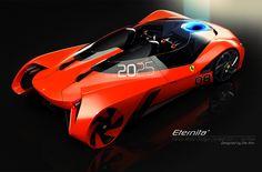 Ferrari 'Eternita' 2025 concept (2011)