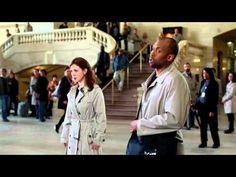 Пародия на флеш моб AT&T Network TV Commercial -- Flash Mob - YouTube