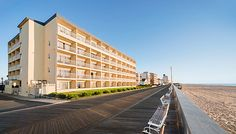 Craving a morning Boardwalk run! Howard Johnson Oceanfront Inn is the perfect place for it! #ocmd