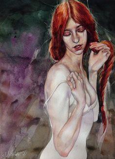 """""""Intimidades"""" Watercolor"""