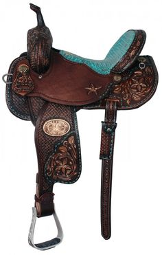 Now here's something I wouldn't mind getting for Christmas! ;) Pozzi Pro Barrel Racing Saddle. Purchase a set of custom, hand-painted horse brushes to match your dream tack at www.etsy.com/shop/wigubuhandpainted