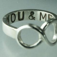 You and me for infinity..........so precious!!! <3