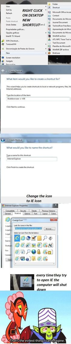 As a Web Designer, who has to deal with IE bugs all the time, Priceless. - Imgur