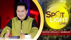 Watch another episode of Pastor Apollo C. Quiboloy's newest program, SPOTLIGHT. For your messages and queries, you can comment it down below so our Beloved P. Kingdom Of Heaven, T Lights, New Program, January 15, Son Of God, Apollo, Gods Love, Spotlight, Worship