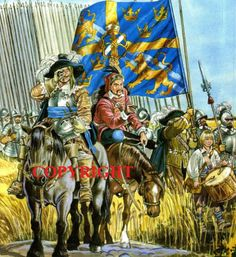 Useful pictures for century mods Renaissance, Mother Courage, Swedish Army, Thirty Years' War, Research Images, Military Insignia, Modern Warfare, Modern Artwork, Military History
