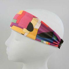 High Performance Sweat-Wicking Headband - Neo Abstract Pattern