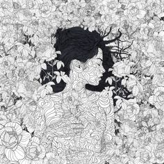 Danny-love-boy • 1000drawings:   Love and Beauty by PedroTapa