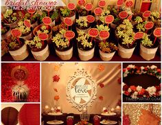 """Autumn / Bridal/Wedding Shower """"She has """"fall""""en in love! A Fall Themed Bridal Shower"""" 