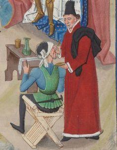 Regnault de Montauban, rédaction en prose. Regnault de Montauban, tome 1er  Date d'édition :  1451-1500  Ms-5072 réserve   Folio 242r