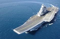 INS Vikramaditya - the modified Kiev-class aircraft carrier Baku, which entered into service with the Indian Navy in 2013.