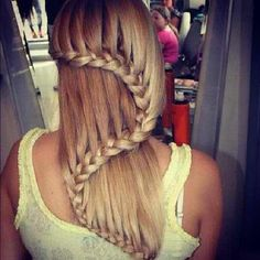 Beautiful Braid ^^#the #most #cutest #braid #ever #would #you #ever #have #this #in #your #hair #but #followme #and #dont #forget #double #tap #hope #you #have #a #great #summer #tumblr by @bffstumblr_ was liked by Wicker Paradise!