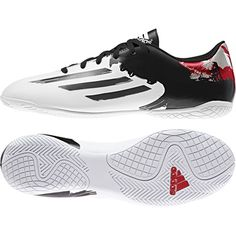 Adidas Messi 10.4 Indoor Court White - Available at Kitbag.com.