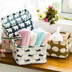 FOLDABLE STORAGE BIN CLOSET TOYS BOX CONTAINER ORGANIZER FABRIC BASKETS HONEST in Home, Furniture & DIY, Storage Solutions, Storage Baskets | eBay!