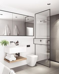 Modern Small Bathroom Design The Basic Components of Modern Bathroom Designs Modern Small Bathroom Design. Incorporating a modern bathroom design will give you a more … Modern Bathroom Design, Bathroom Interior Design, Bathroom Designs, Modern Bathrooms, Modern Sink, Bath Design, Modern Design, Modern Toilet, Luxury Bathrooms
