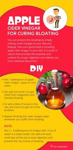 Apple Cider Vinegar for Curing Bloating