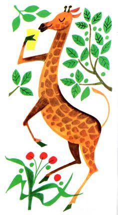 Excellent giraffe.