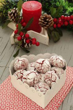 Jam Cookies, Cheesecake Cookies, Brownie Cookies, Sweet Recipes, Cake Recipes, Dessert Recipes, Desserts, Christmas Biscuits, Christmas Treats
