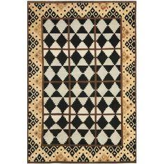 Safavieh Hand-knotted Gabeh Tribal Black/ Rug