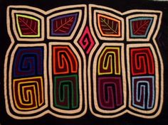 "These molas measure about 16"" x 12.5"". These molas were bought in the 1950's or 1960's by a very good friend. She lived in Panama during this period and became a local expert on mola. Dottie bought th"