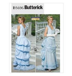 Renaissance-Costume-Pattern-Victorian-Civil-War-OOP-Butterick-Making-History