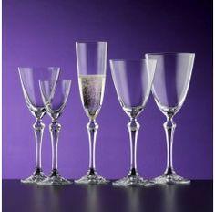 Cristaler a de 48 piezas en cristal s vres compuesto por - Cristalerias de bohemia ...