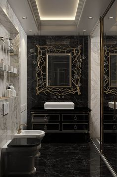 Ideas Bath Room Remodel Master Bath Mirror For 2019 Bathroom Grey, Bathroom Wallpaper, Bathroom Layout, Modern Bathroom, Master Bathroom, Bathroom Marble, Bathroom Vintage, Master Baths, Bathroom Bath