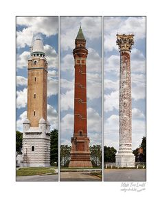 Historic Water Towers of St Louis Missouri by picspicspics on Etsy