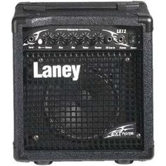 Laney amp (my amp's kid depicted)