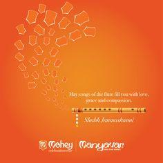 #HappyJanmashtami from all of us at Manyavar & Mohey.