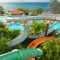 Pirates Island, a 27,000-square-foot waterpark, vies with Elmo, Zoe and other Sesame Street favorites for your kids' attention at Beaches Ochos Rios Resort. #FunInTheSun #Extreme #Pool #Party