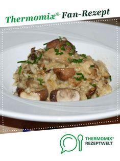 Einfaches Pilz-Risotto (vergan) von UdoSchroeder. Ein Thermomix ® Rezept aus der Kategorie Hauptgerichte mit Gemüse auf www.rezeptwelt.de, der Thermomix ® Community.
