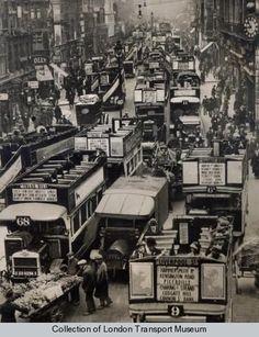 the joys of London traffic