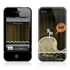 Enamored Whale iPhone 4/4S Case now featured on Fab.