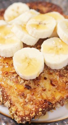 Crunchy pecan banana french toast julieseatsandtreats food crunchy pecan banana french toast forumfinder Image collections