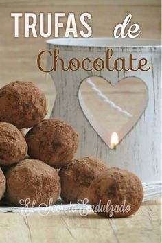 El Secreto Endulzado: Trufas de Chocolate