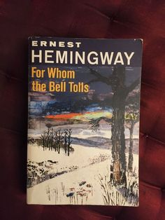 Vintage FOR WHOM THE BELL TOLLS Ernest Hemingway 1968 American Literature