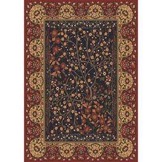"Milliken Pastiche Kashmiran Balsa Russet Red Area Rug Rug Size: 2'8"" x 3'10"""