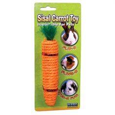 Ware Corn-E-Carrot Small Pet Chew Toy, Medium