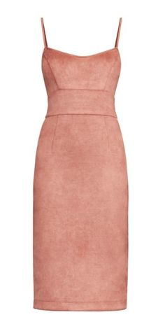 Alese Faux Suede Dress by Bcbgmaxazria