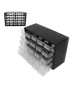 Another great find on #zulily! 25-Drawer Hardware Storage Box #zulilyfinds