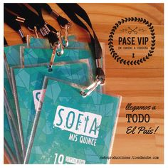 invitaciones PASE VIP * super originlaes!