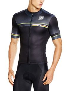 Santini UCI Iride Black Jersey 2016     Check out this great  product.Note It is affiliate link to Amazon. Latasha Sawyer · Fun Cycling 9fff8fc51