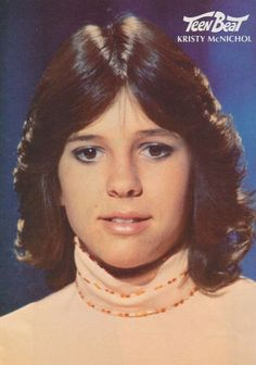 70's feathered haircuts. No one could rock it like Kristy! This is Jen's doppelganger! (at least back in the day...)