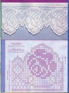 Rose crochet