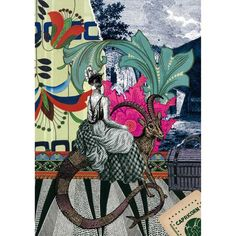 Illustrations « Astro » pour Christian Lacroix Papier « Bonnie Colin