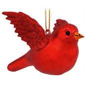 Red Bird Ornament  border=